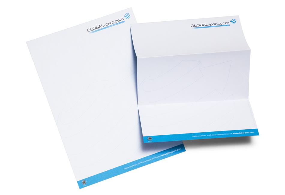 Briefpapier Online Drucken Global Printcom