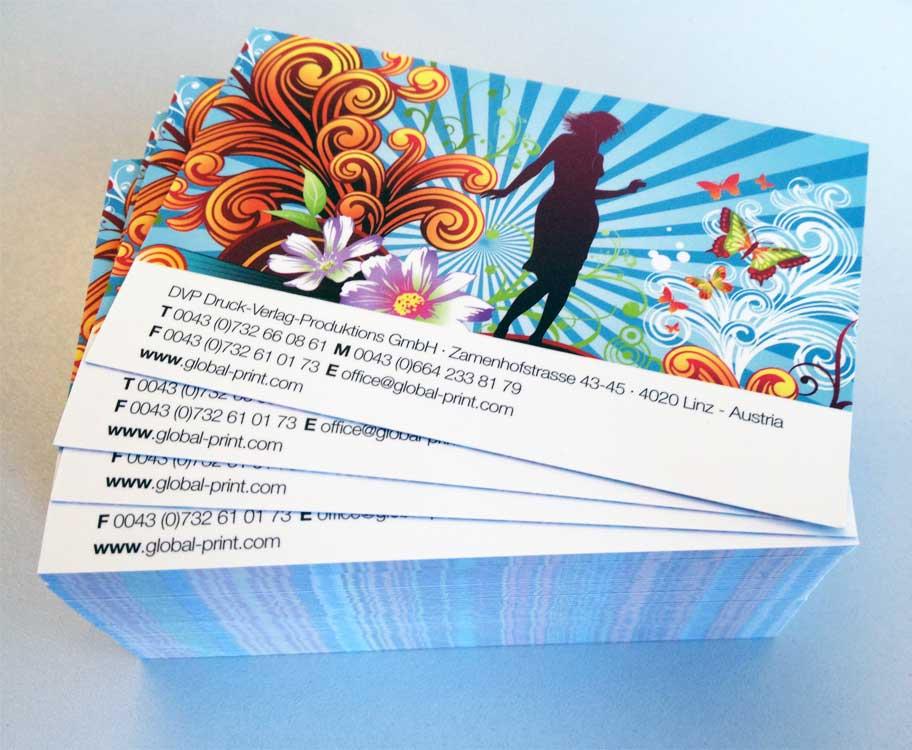 Visitenkarten Express Drucken Lieferung Morgen